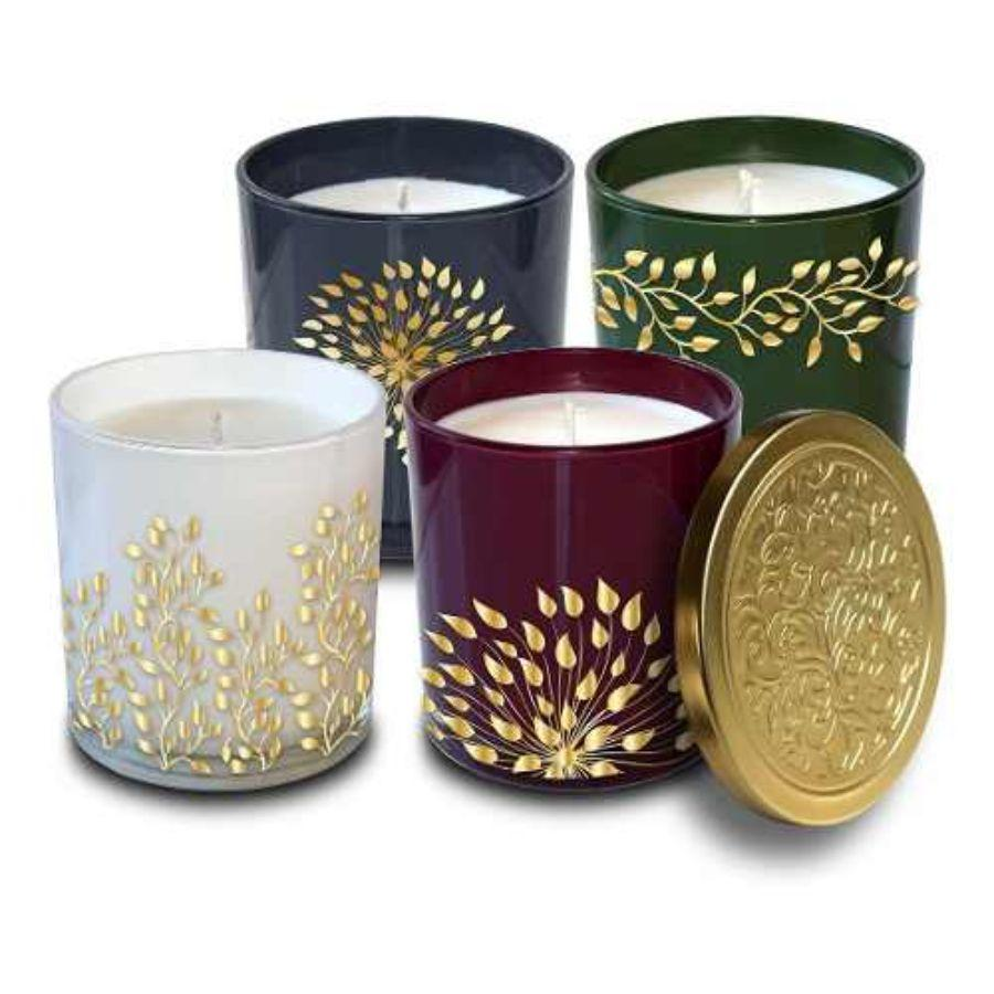 Bellevue Luxury Candle Pack, 4 ct