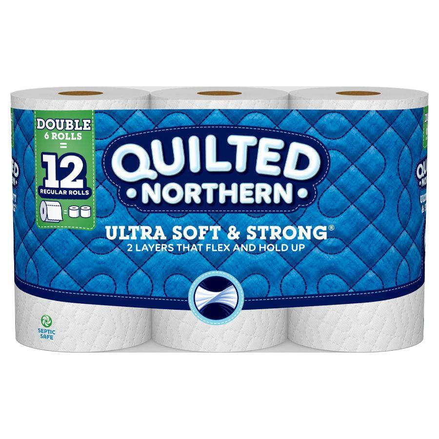 Northern Quilted Ultra Soft & Strong, 6 Rolls