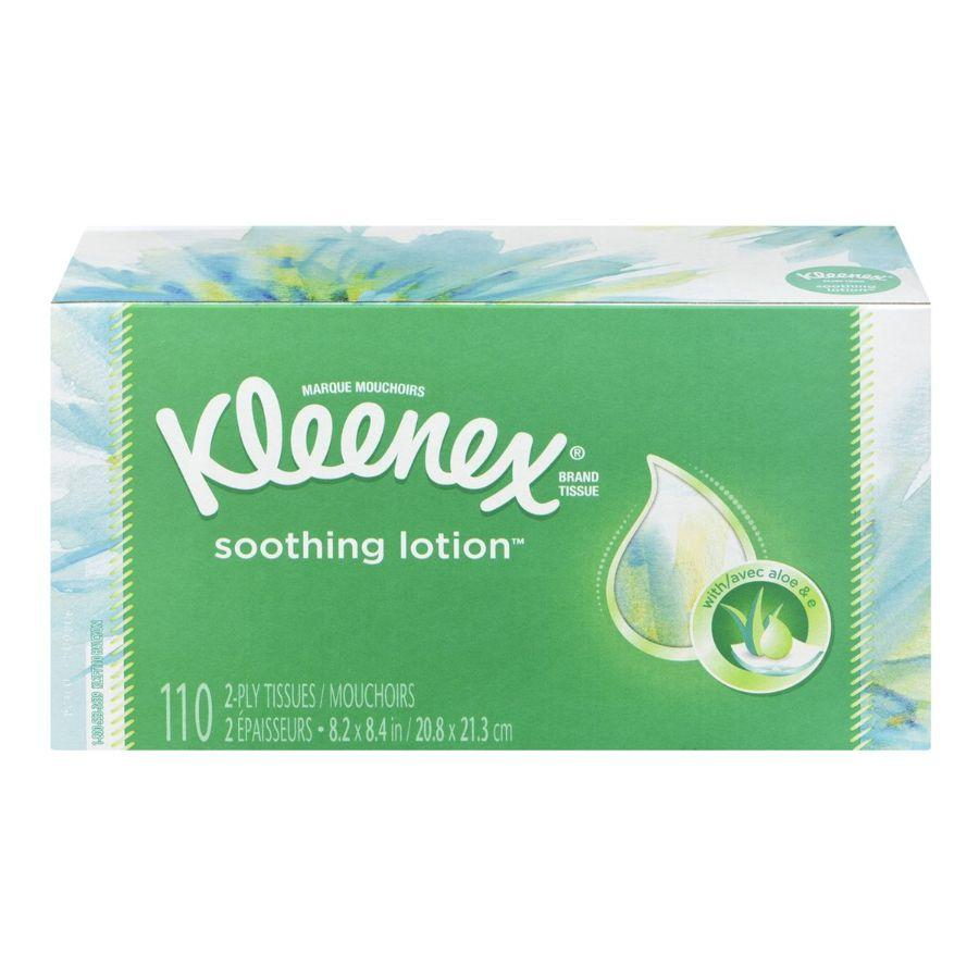 Kleenex Soothing Lotion 110 Tissues, 1 Pk