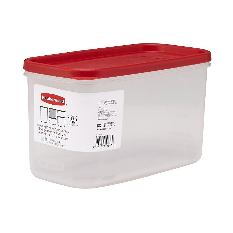 Rubbermaid Dry Food Container, 10 cups