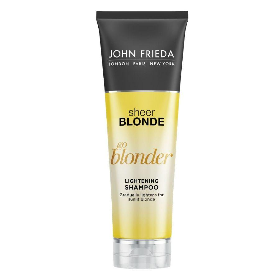John Frieda Shampoo Sheer Blonde Lightening, 8.3 oz