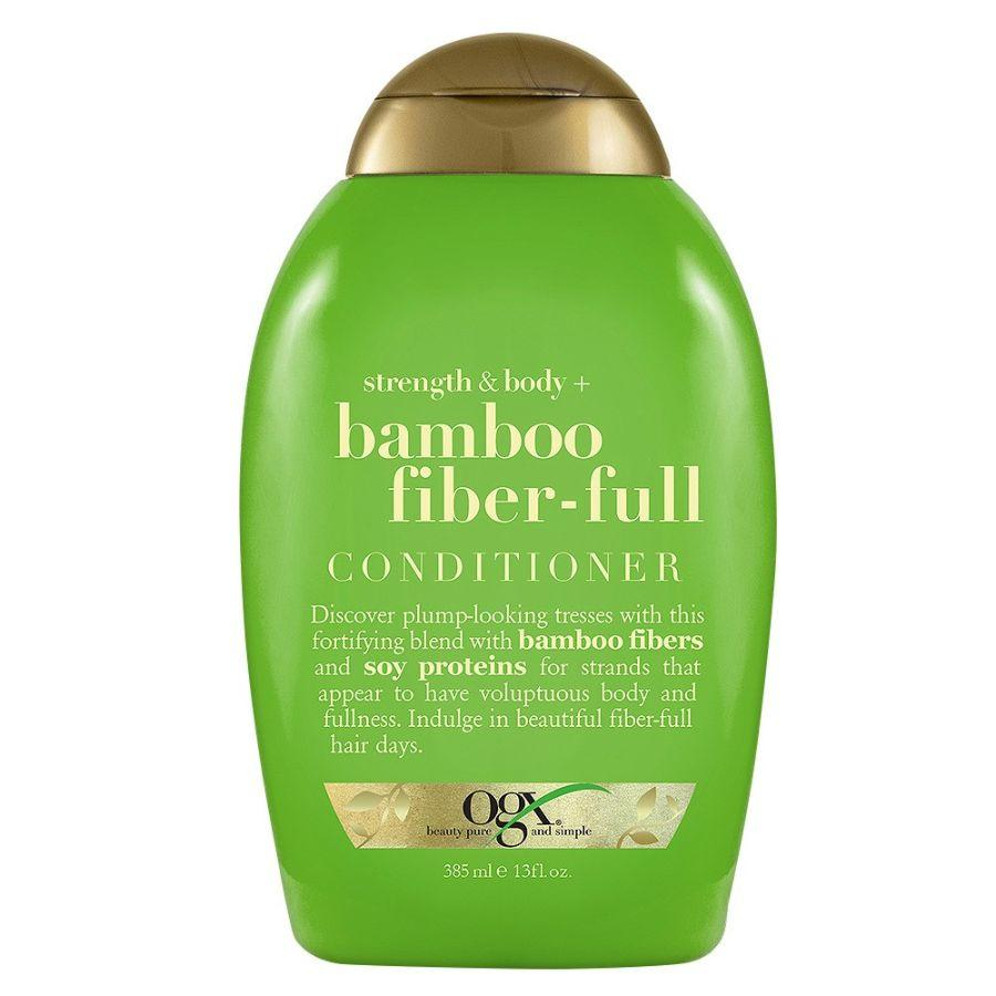 OGX Shampoo Strength & Body + Bamboo Fiber-Full, 13 oz