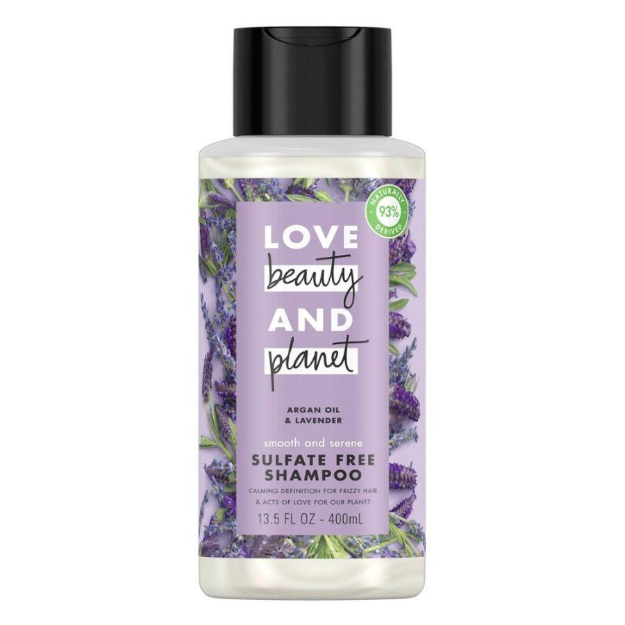 Beauty & Planet Shampoo Argan Oil & Lavender, 13.5 oz