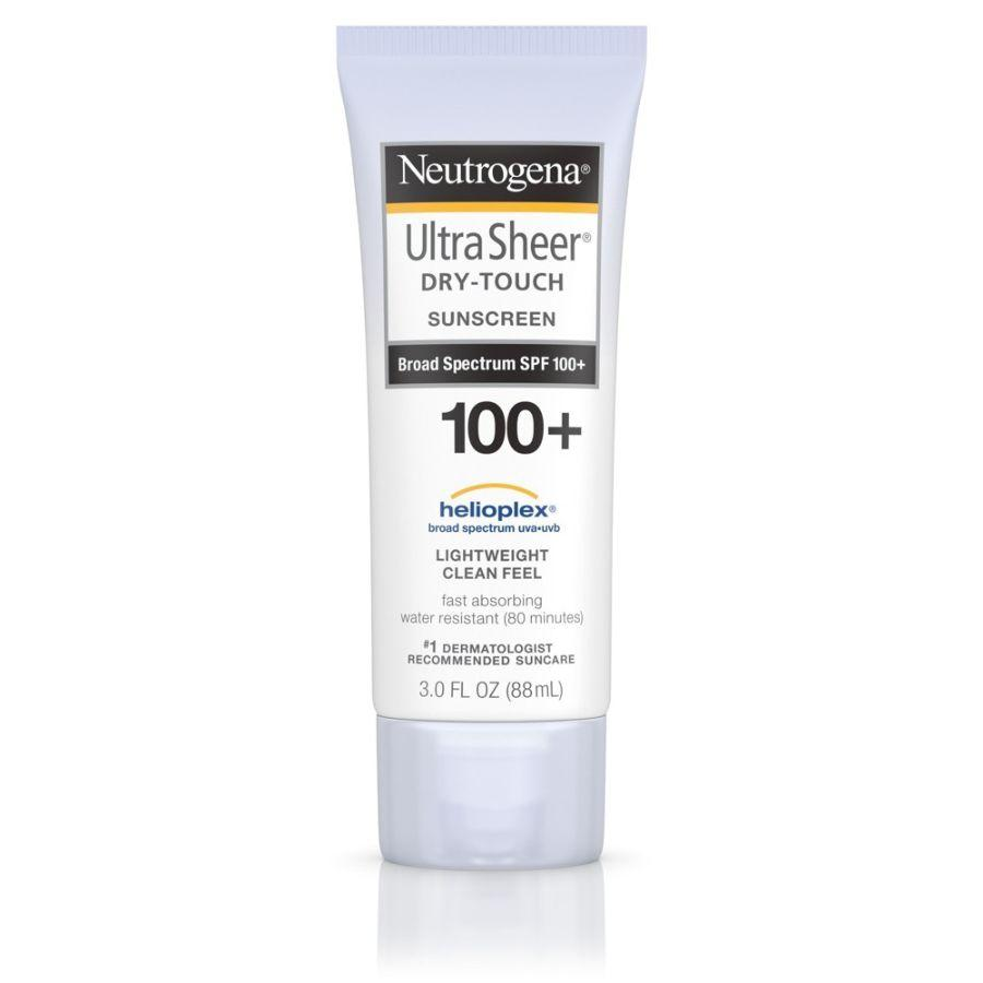 Neutrogena Ultra Sheer Dry Touch Sunscreen SPF 100, 3 oz
