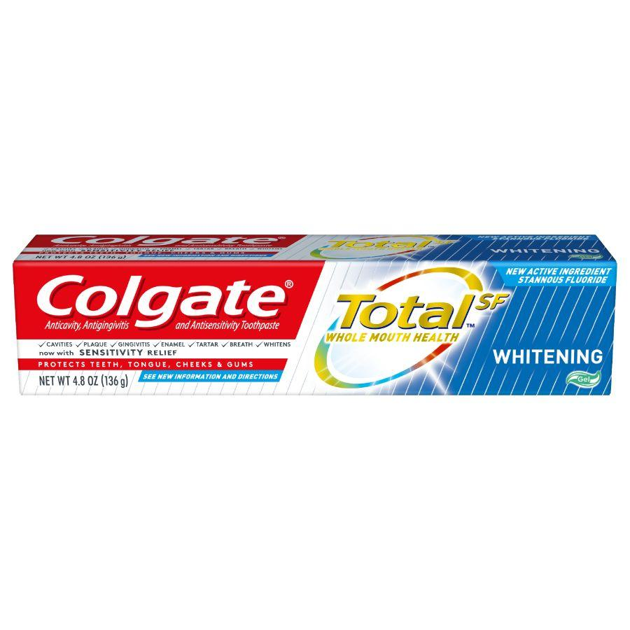 Colgate Toothpaste Total Whitening Gel, 4.8 oz