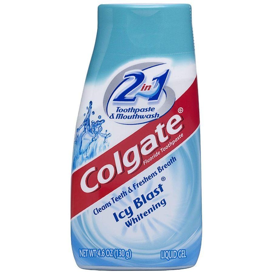 Colgate Toothpaste 2in1 Icy Blast Whitening, 4.6 oz