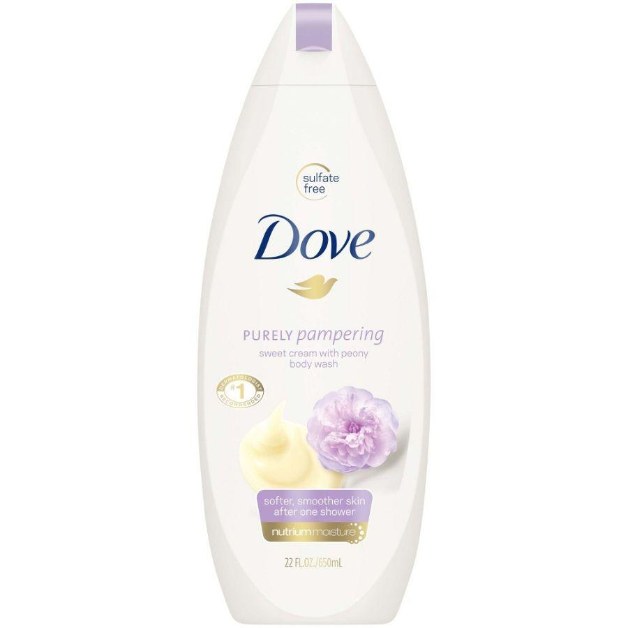 Dove Body Wash Purely Pampering Sweet Cream with Peony, 22 oz