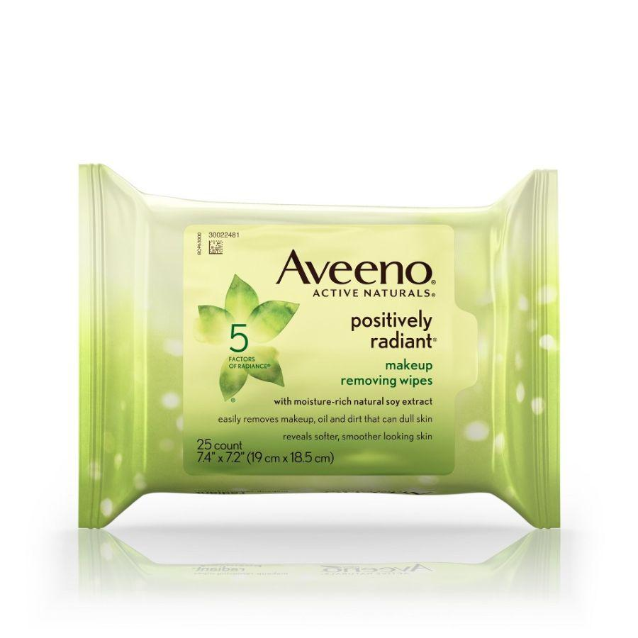 Aveeno Makeup Removing Wipes, 25 ct