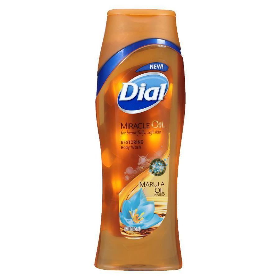 Dial Body Wash Miracle Marula Oil, 16 oz