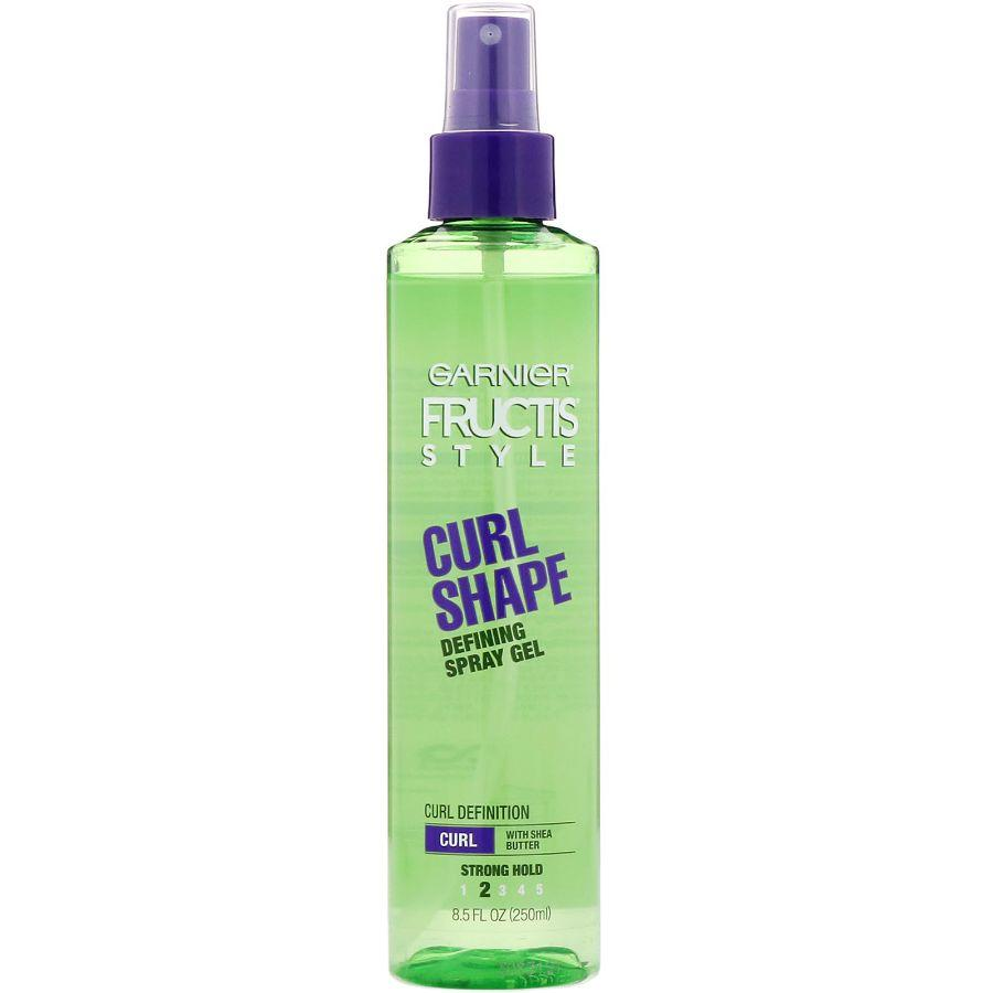 Garnier Fructis Curl Shape Spray Gel, 8.5 oz