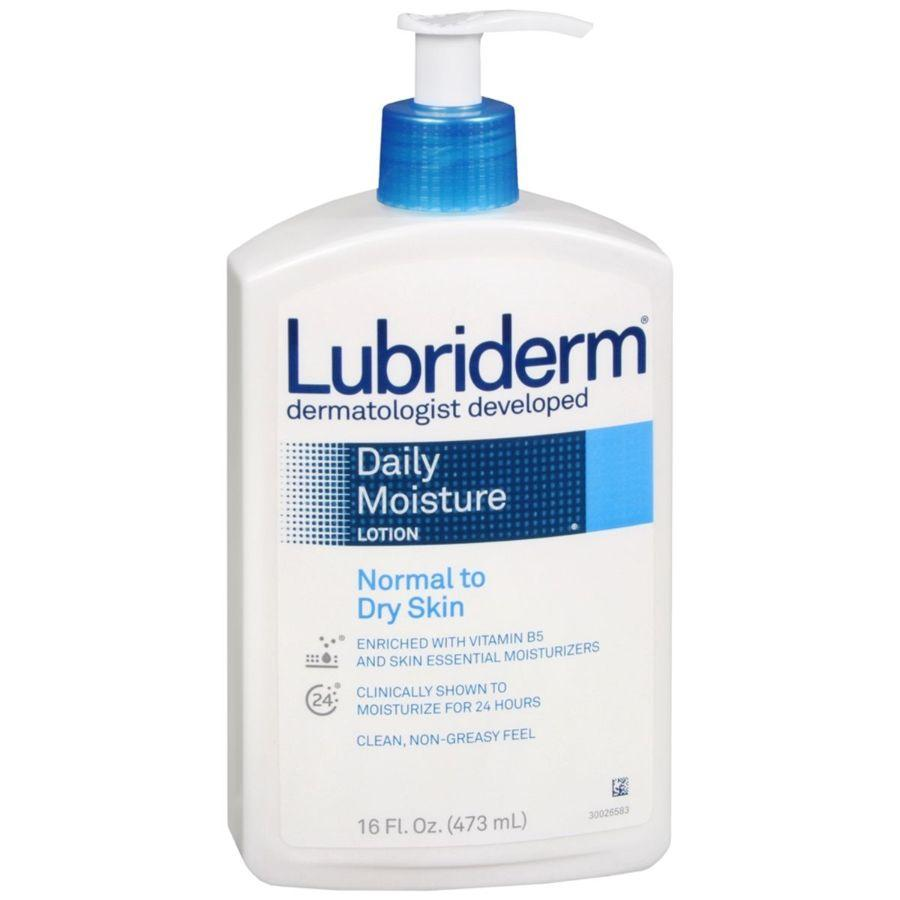 Lubriderm Daily Moisture Normal to Dry Skin, 16 oz