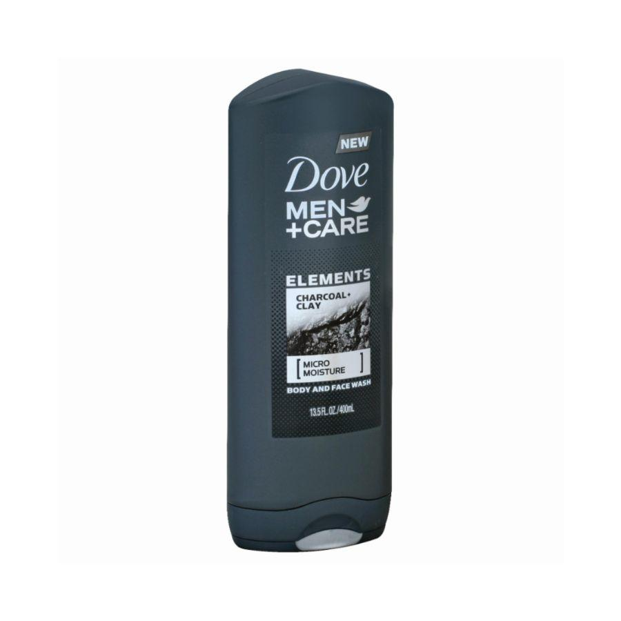 Dove Men Body & Face Wash Charcoal Clay, 13.5 oz
