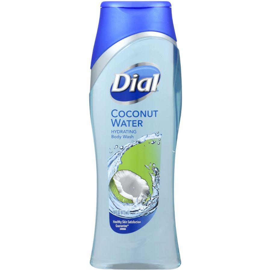 Dial Body Wash Coconut Water, 16 oz