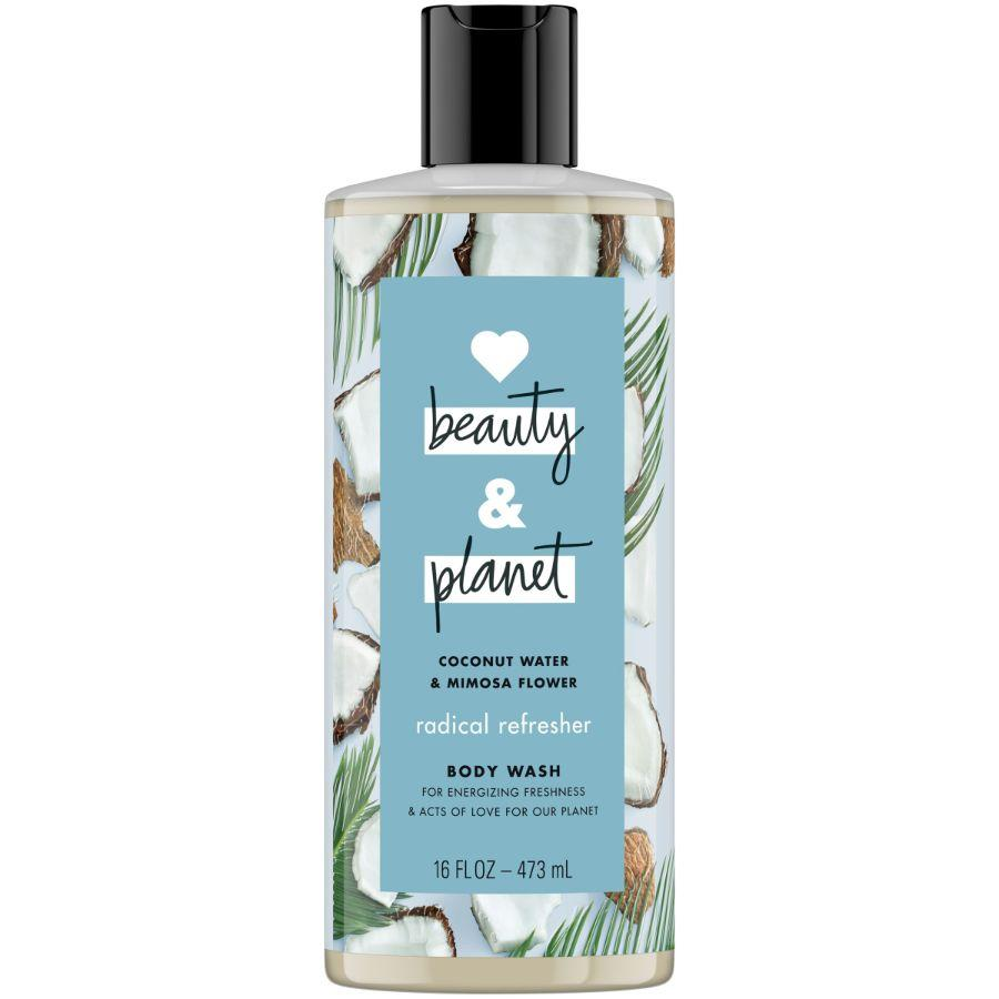 Beauty & Planet Body Wash Coconut Water & Mimosa Flower, 16 oz