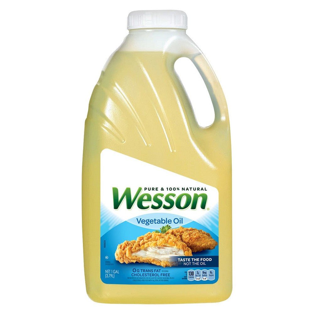 Wesson Vegetable Oil, 3.79 L