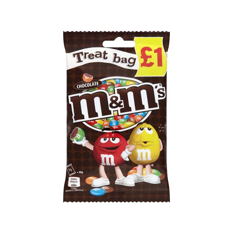 M&M's Choco Treat Bag, 82 g
