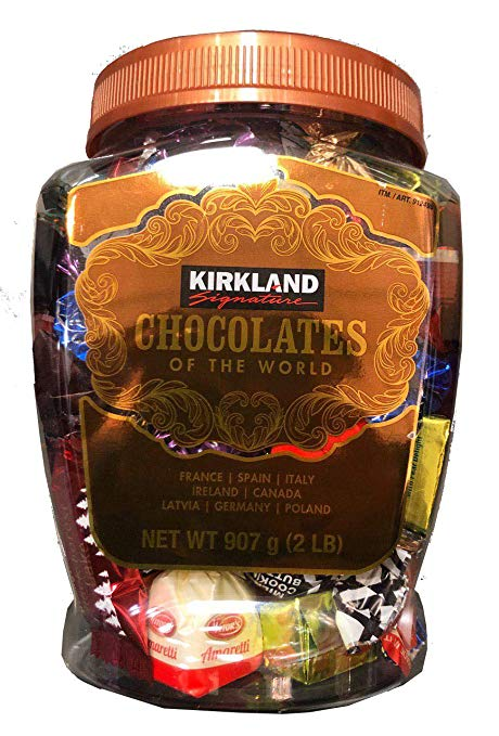Kirkland Signature Chocolates of the World, 2 lb
