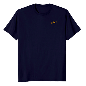 T-shirt Firma Carbogang - Blue Navy