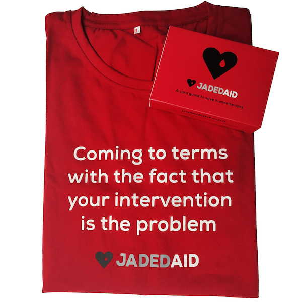 JadedAid Combo Pack: Cards + Red Shirt