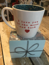 Load image into Gallery viewer, Inside Out Love you to the moon mug