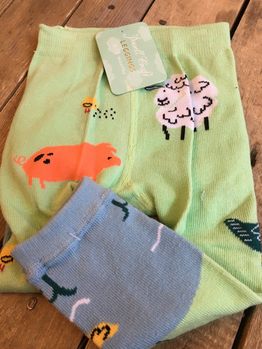 Farmyard Theme Leggings 6-12mths