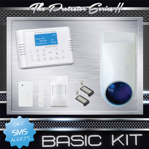 Basic Kit - The Protector Series II Wireless Alarm System
