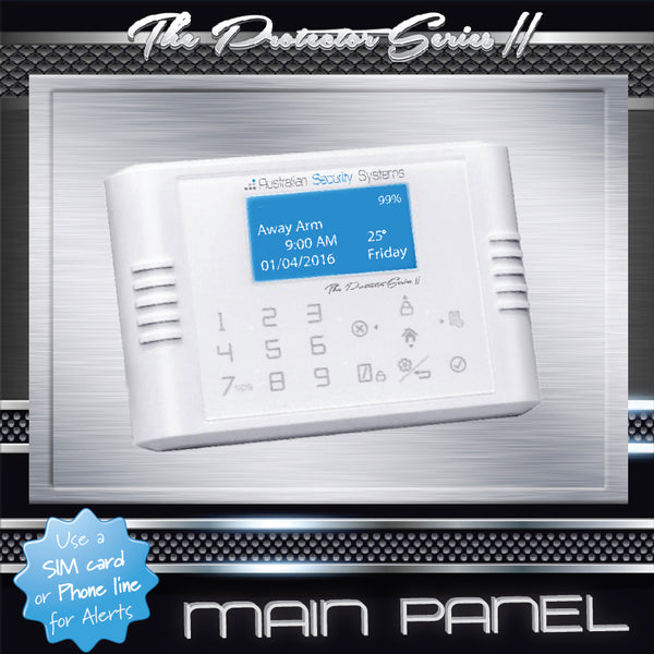Standard Kit - The Protector Series II Wireless Alarm System