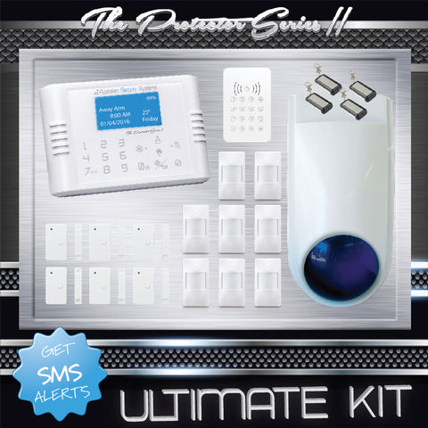 Ultimate Kit - The Protector Series II Wireless Alarm System