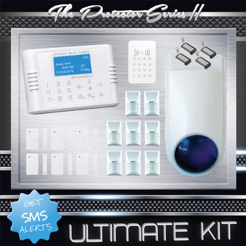 Ultimate Kit - Pet friendly version - PSII Wireless Alarm System