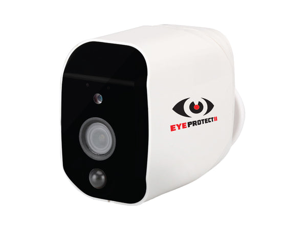 2 x Eye Protect II CCTV Wi-Fi Camera's - Battery or A/C powered