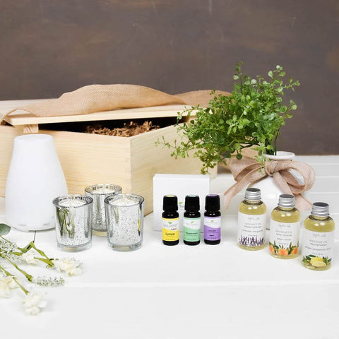 Essential Oils Diffuser Gift Box | BrilliantGifts.com