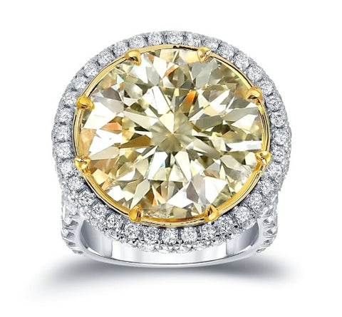 Yellow Diamond Ring | BrilliantGifts.com