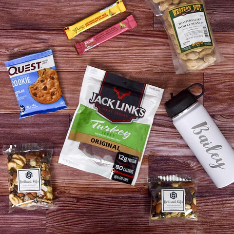 Healthy Snack Gift Crate | BrilliantGifts.com