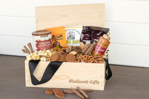 Sweets Gift Box for Women | BrilliantGifts.com