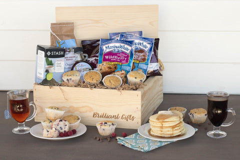 Breakfast Gift Basket for Housewarming | BrilliantGifts.com