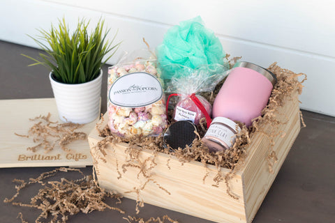 Bridesmaid Gift Crate