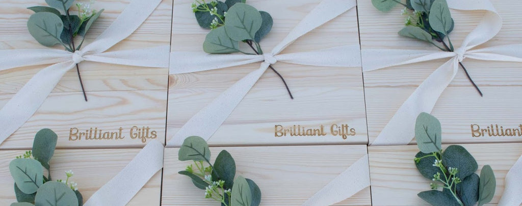 Brilliant Gifts Pine Crates