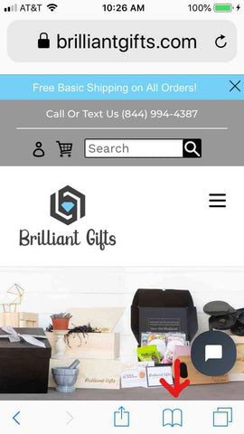 BrilliantGifts.com | Mobile Page