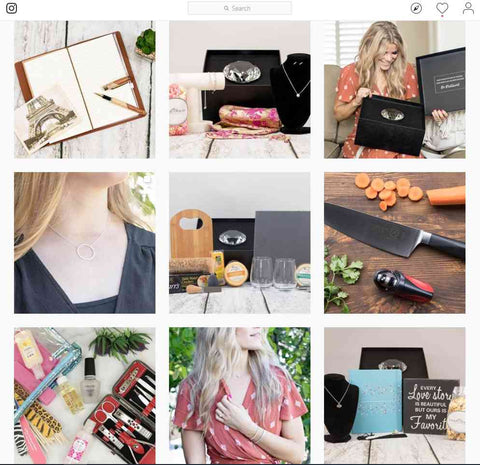 Instagram Page | BrilliantGifts.com