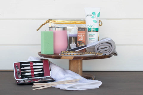 Pedicure Gift Basket | BrilliantGifts.com