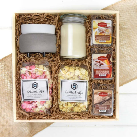 Candle Gift Crate