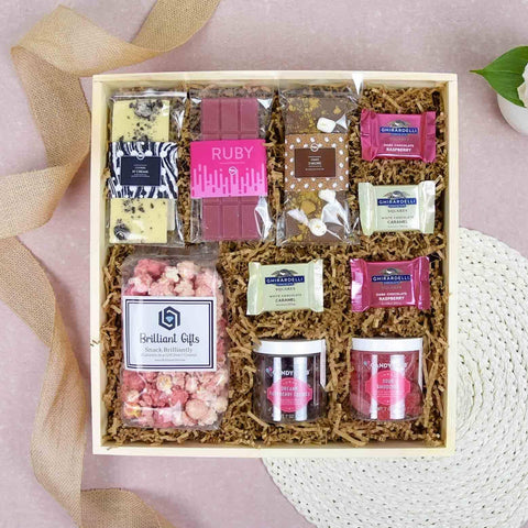 Chocolate Lover's Gift Crate