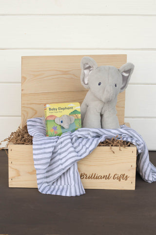 Elephant Themed Gift Box