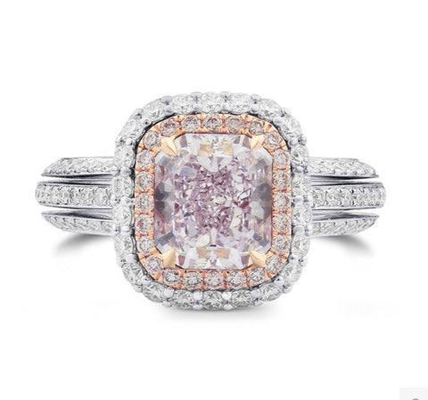 Pink Diamond Ring | BrilliantGifts.com