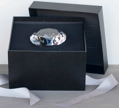 Decorative Gift Box with Diamond | BrilliantGifts.com