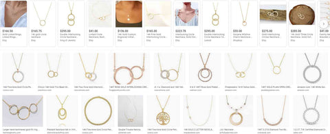 Gold Necklace | BrilliantGifts.com
