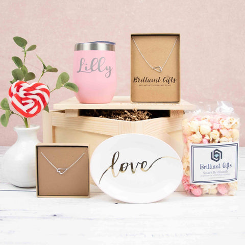 Romantic Gift Crate For Her
