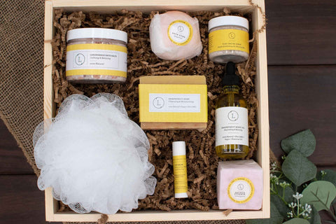 Home Spa Gift Basket for Women | BrilliantGifts.com
