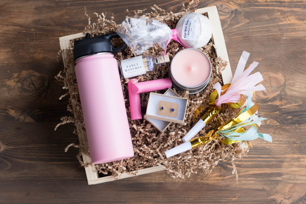 Birthday Box for Her | BrilliantGifts.com