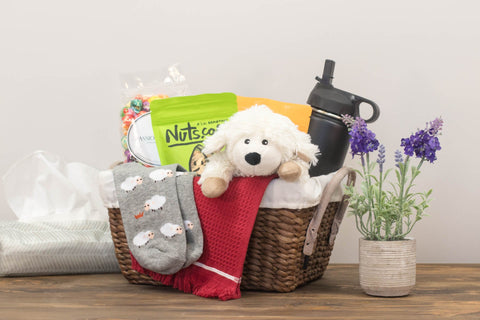 Get Well Gift Basket for Women | BrilliantGifts.com